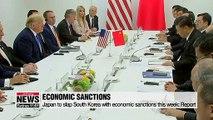 Japan prepares for economic sanctions on South Korea: report