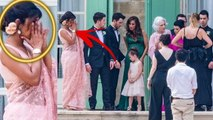 First Look Priyanka Chopra Crying, Poses With Nick Jonas Family   Joe Jonas Sophie Turner Weddig