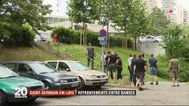 à Saint-Germain-en-Laye, ces jeunes qui se sont affrontés à coups de marteaux, couteaux et barres de fer: 7 blessés dont 3 en urgence absolue