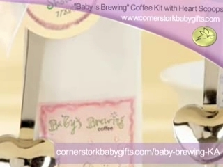Coffee Personalized Baby Shower Favors