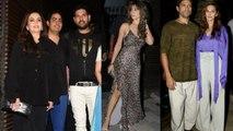 Farhan Akhtar, Shibani, Raveena Tandon & others attend Yuvraj Singh's retirement party | FilmiBeat