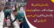 Pakistani fans cleans stadium after match, becomes international sensation through viral video