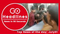Top News Headlines of the Hour (01 July, 12 PM)