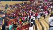 Caire: le Sily acclamé par les supporters après sa victoire face au Burundi