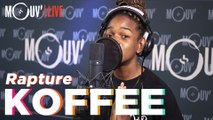 "KOFFEE : ""Rapture"" 'Live @Mouv Studios)"