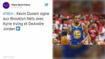 NBA : Brooklyn s'offre Kevin Durant, le mercato s'emballe
