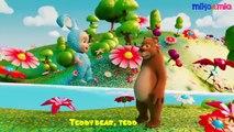 Teddy Bear Teddy Bear Turn Around | Lullabies for Kids | Lullaby for Babies to Go to Sleep | 3D Animation Video | 3D Rhymes | Kids Nursery Rhymes | Kids Videos Songs | Kids Songs | Baby Songs | Dailymotion Kids Video | By HD Nursery Rhymes
