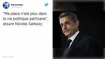 Nicolas Sarkozy à propos de la vie politique : « Ma place n'est plus là »