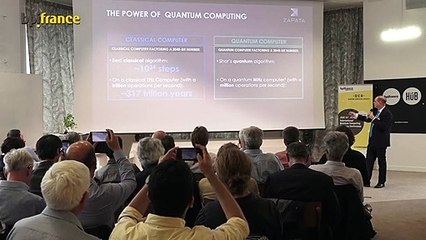 Quantum Computing algorithm and new business applications