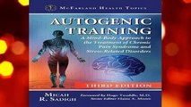 Autogenic Training (McFarland Health Topics)