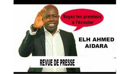 Revue de Presse Ahmed AIDARA du 01 Juillet