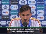 Euro (Espoirs) - Ruiz : ''Ancelotti est une inspiration''