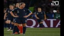 Les Bleues éliminées en quart de finale du Mondial