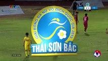 Siêu phẩm sút phạt của Vũ Thị Thúy giúp Hà Nam đánh bại Hà Nội trong trận cầu kịch tính