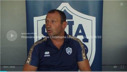 Première interview Christophe  Laussucq