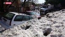 Mexique : plus de 2 mètres de grêle sont tombés à Guadalajara