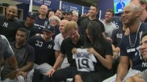 Duke and Duchess of Sussex attend New York Yankees v Boston Red Sox baseball game