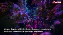 Llega a España el nuevo  LG G8 Smart Green con mejoras y avanzadas funcionalidades