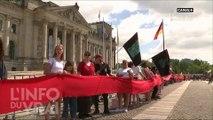 Canicule : l'Allemagne victime de feux de forêt - L'Info du Vrai du 28/06 - CANAL+