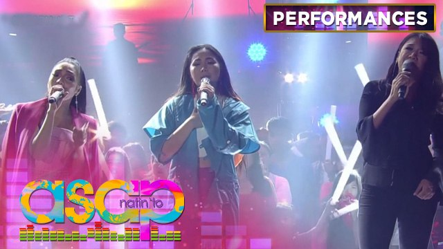 """Color It Red sings their hit song """"Paglisan"""" with Jona and Yeng 