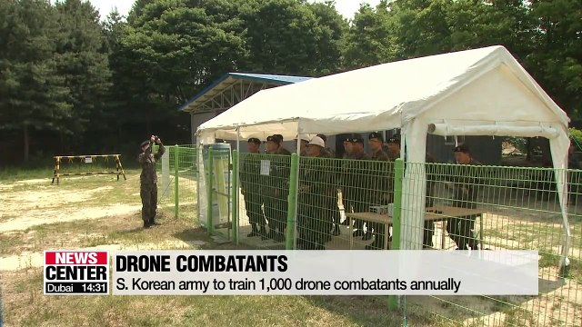 S. Korean army to raise 1,000 drone combatants a year, open 18 training centers