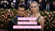 Sophie Turner and Joe Jonas's relationship timeline