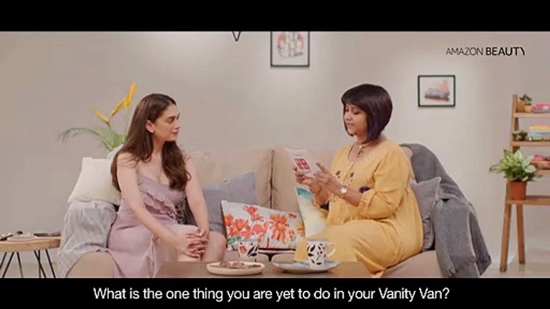 Amazon Beauty Presents Vanity Diaries: Aditi Rao Hydari's eyebrow secret revealed!