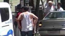 Sincan'da taksi durağı kavgası kameralara yansıdı