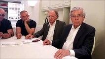 Belfort :  Chevènement a rencontré l'intersyndicale de GE dans un restaurant de la ville