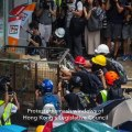 Protesters try to smash way into Hong Kong legislative building