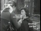 """Incendio en la tienda """"La casa de los 10 mil articulos"""" 1970"""