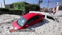 Mexique : les images impressionnantes de Guadalajara sous la grêle