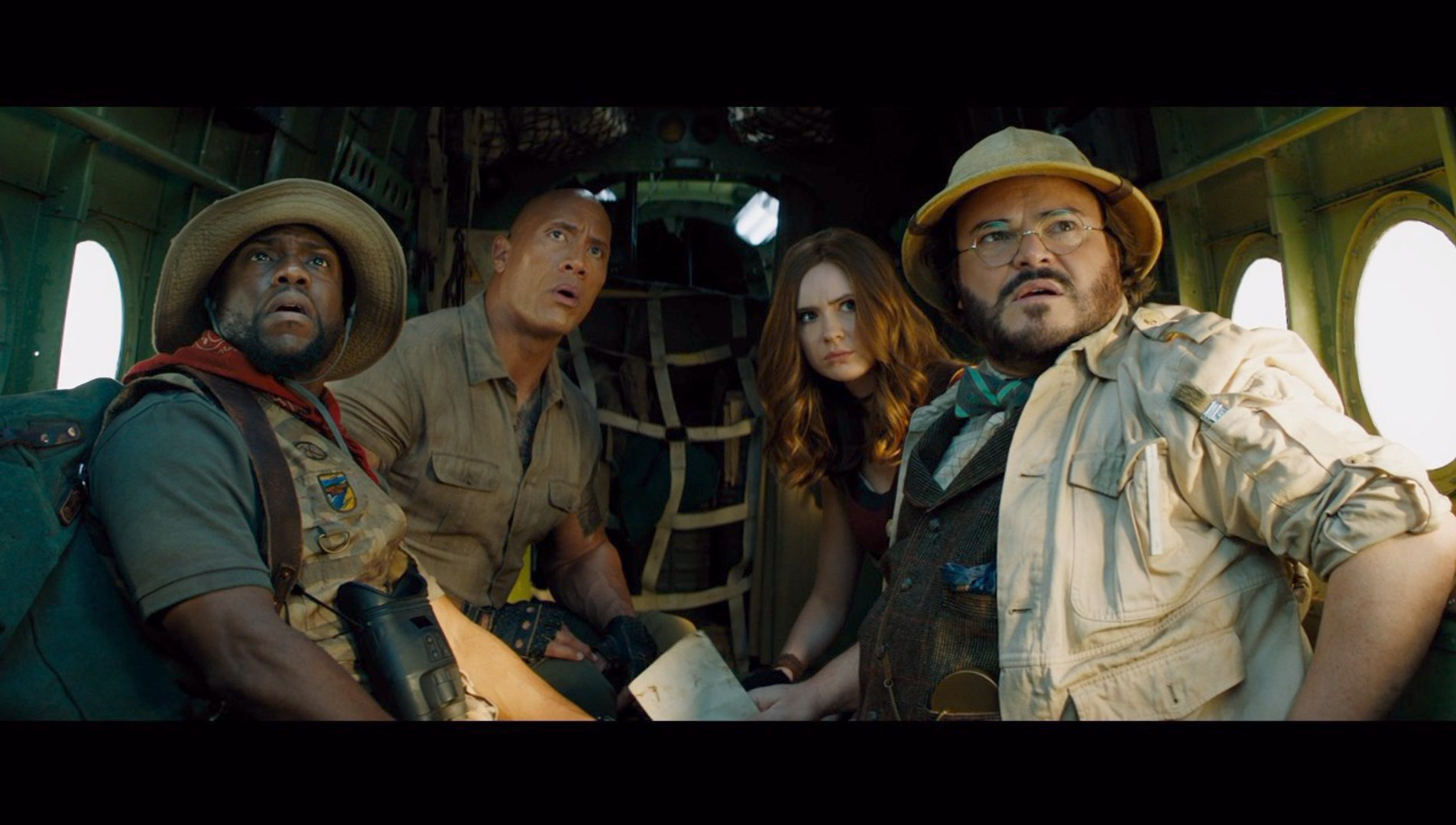 Dwayne Johnson, Kevin Hart, Jack Black In 'Jumanji: The Next Level' First Trailer