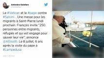 Le pape va célébrer une messe pour les migrants