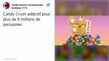 Candy Crush. Plus de 9 millions de personnes jouent au moins 3h par jour