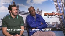 Samuel L Jackson And Jake Gyllenhaal on Spider-Man Far From Home, Characters & More   Extra Butter