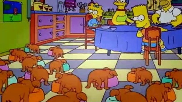 The Simpsons Season 6 Episode 20 Two Dozen and One Greyhounds