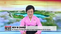 N. Korea-U.S. working-level talks to resume with new line-up of negotiators from N. Korea