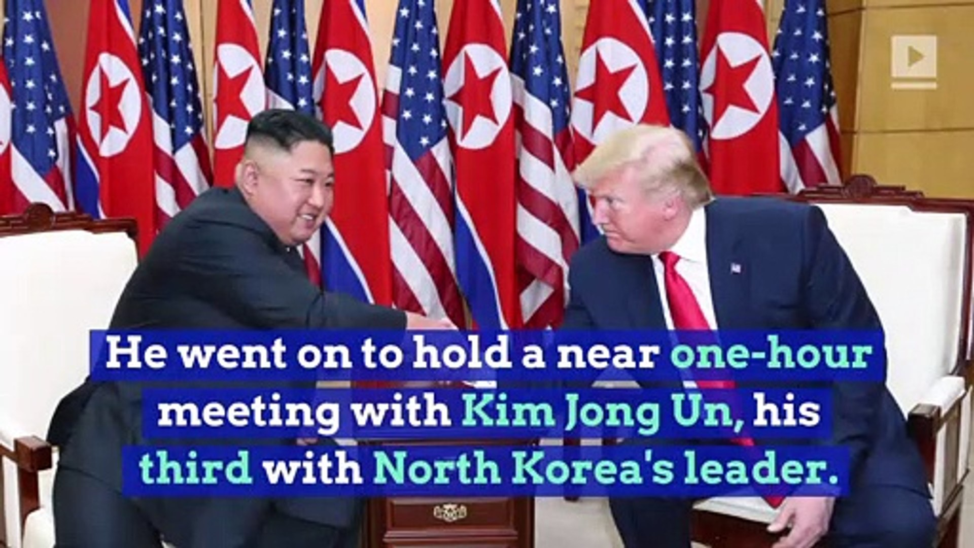 Trump's Visit to North Korea Is the First for a Sitting US President