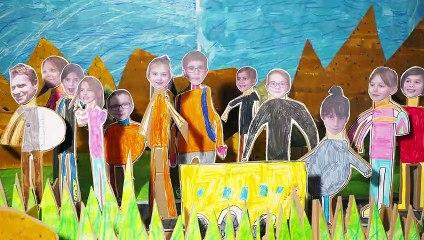 Les bouquetins des Ecrins : les écoliers de Savines-le-Lac font leur cinéma !