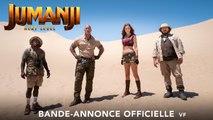 Jumanji: Bienvenue dans la jungle 2 Bande-annonce VF (Action 2019) Dwayne Johnson, Kevin Hart