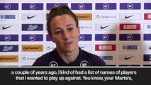 (Subtitled) 'Megan Rapinoe is one of the best' - Bronze relishes US challenge