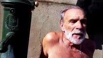 Privé d'eau depuis 5 ans : il prend une douche devant la mairie de Thionville