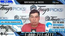 Milwaukee Brewers vs Cincinnati Reds 7/1/2019 Picks Predictions Previews