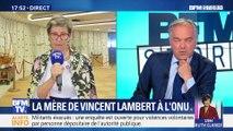 """Affaire Vincent Lambert: """"La France ne nous entend pas"""""""