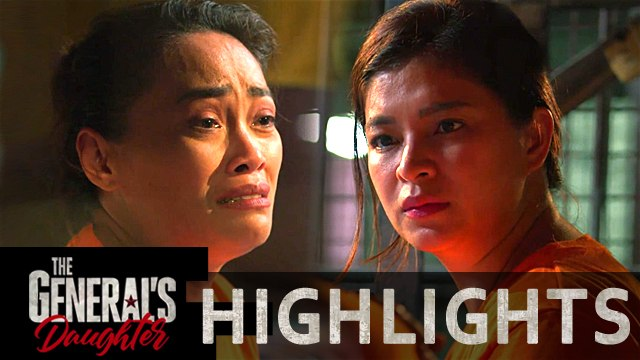 Bekbek tears out as she tells her story to Rhian | The General's Daughter