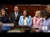 Emotivo discurso de congresista sobre foto de migrantes muertos | Noticias con Ciro Gómez