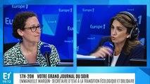 """Manifestation écologiste évacuée à Paris : Emmanuelle Wargon """"comprend qu'on trouve ces images choquantes"""""""