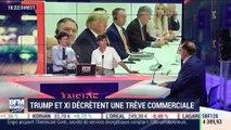 Donald Trump et Xi Jinping décrètent une trêve commerciale - 01/07