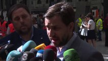 TUE rechaza conceder a Puigdemont y Comín medidas urgentes